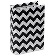 Livro caixa lines preto e branco 16x10 cm