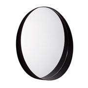 Espelho em metal preto 60 cm
