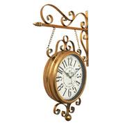 Relógio de estação Hotel Paris Cobre 31 cm