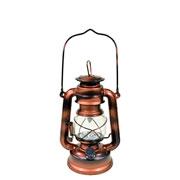 Lampião Cobre c/ luz led cor quente 19,5 cm