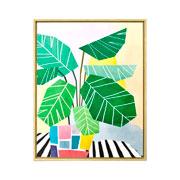 Quadro em canvas abstract 40x50 cm