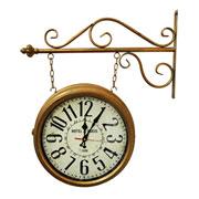 Relógio de estação Hotel Paris cobre 35 cm