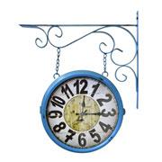 Relógio de estação Torre de Paris Azul 29 cm