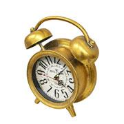 Relógio retrô de mesa cobre 22x8x24 cm