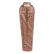 Vaso em metal cobre 78 cm