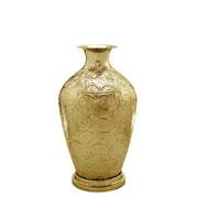 Vaso em metal dourado 54 cm