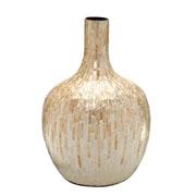 Vaso decorativo de madrepérola 45 cm
