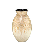 Vaso decorativo de madrepérola 43 cm