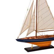 Barco decorativo de MDF 42x09x60 cm
