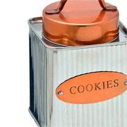 Pote em inox para cookies 16 cm