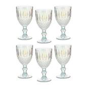 Jogo de taças de vidro lumini 350 ml 06 peças