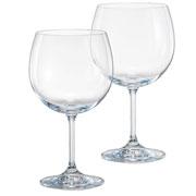 Jogo de taças de cristal para Gin tônica Anna 600 ml 02 peças