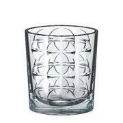 Vaso de cristal eclipse 18x22 cm