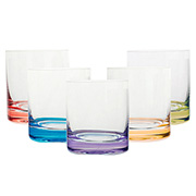Jogo de copos baixo de cristal Barware 320 ml 06 peças