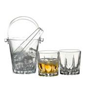 Jogo para whisky de vidro karat 08 peças - Pasabahce