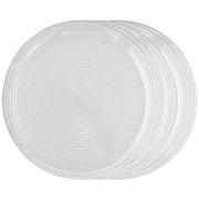 Jogo de pratos de vidro generation 26x01 cm 06 peças
