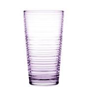 Jogo de copos para água granada lilas 06 peças 345 ml