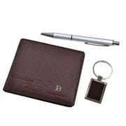kit Carteira chaveiro e caneta