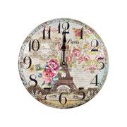 Relógio de parede redondo Países 35 cm