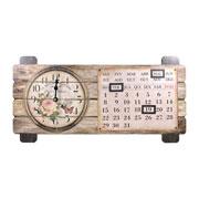 Relógio de parede com calendário