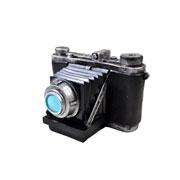 Cofre câmera de resina decorativa