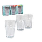 Jogo de copos de vidro Atlantis 350 ml