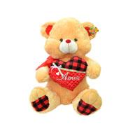 Urso de pelúcia com coração Amor