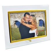 Porta retrato de vidro reto horizontal 15x10 cm