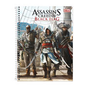 Caderno Universitário Assassins Creed 01 mt 96 fls