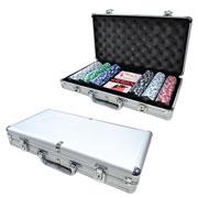 Jogo de Poker com maleta 300 fichas