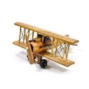 Avião de madeira 20 cm