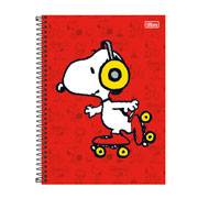 Caderno Universitário Snoopy 01 mt 96 fls