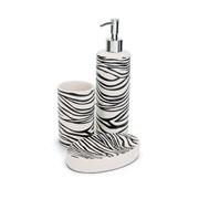 Kit para banheiro de cerâmica 03 pçs
