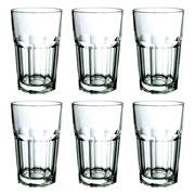 Jogo de copos de vidro alto Dover 300 ml 06 peças