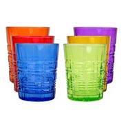 Jogo Copos Goblet Color 290 ML 06 pçs