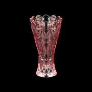 Vaso de cristal decorativo angel roxo 13 cm