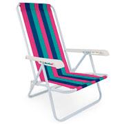 Cadeira reclinável com 04 posições