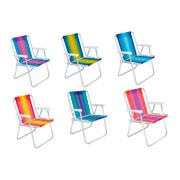 Cadeira alta em alumínio