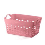 Cesto Organizador Quadrado rosa 22 L