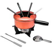 Conjunto para fondue cobre 10 pçs - Brinox
