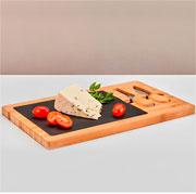 Jogo para queijo Bambú 03 peças - Hauskraft