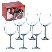 Jogo de taças vinho tinto vena 900 ml 06 peças
