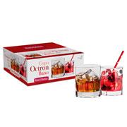 Conjunto de copo  de vidro Octron 6 peças 285 ml