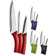 Conjunto facas de cozinha 03 pçs