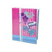 Álbum Flores para 100 fotos 10x15 cm
