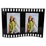 Porta retrato filme duplo vertical 10x15 cm