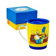 Caneca The Simpsons com tampa 350 ml