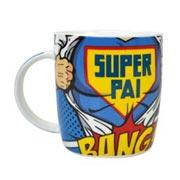 Caneca de porcelana Super Pai 320 ml