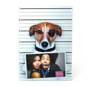 Porta retrato Cão Criminoso 10x15 cm