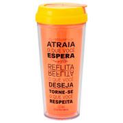 Copo canudo retrátil Atraia 450 ml